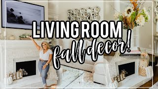 Clean and Decorate With Me Fall 2020 + FALL Living Room Home Tour ft LG Gallery Design TV
