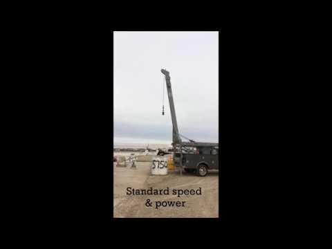 Hunke 6T Pump Hoist With 2-Speed Motor