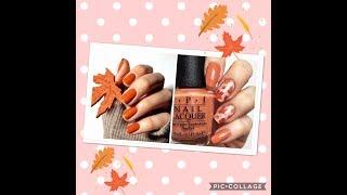 Autumn nail idea 2018!
