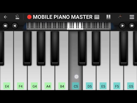 Kab Tak Yaad Karu Main Usko ( sad ) Piano Tutorial || Bewafai || - Mobile Perfect Piano Tutorial