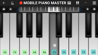Kab Tak Yaad Karu Main Usko ( sad ) Piano Tutorial    Bewafai    - Mobile Perfect Piano Tutorial