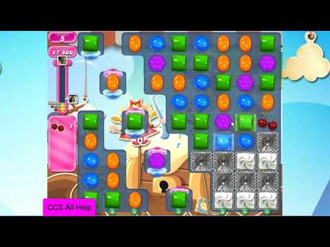 Candy Crush Saga Level 2678 18 moves NO BOOSTERS Cookie