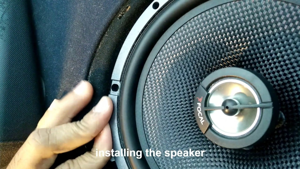 hight resolution of focal speaker for bmw e46