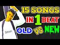 NEW VS OLD NEPALI MASHUP COVER BY SITROM THARU# 15 SONGS IN 1 BEAT