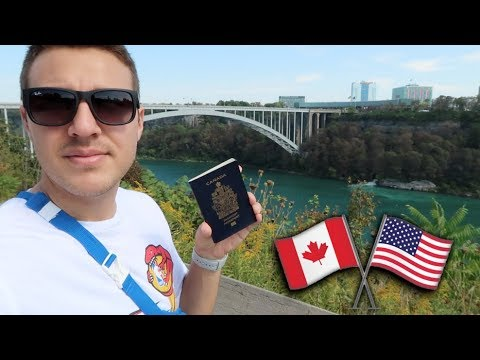Walking over the BORDER ( USA/CANADA )