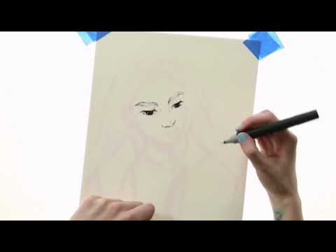 How to Draw Line Art, Tutorial by Tamberella thumbnail