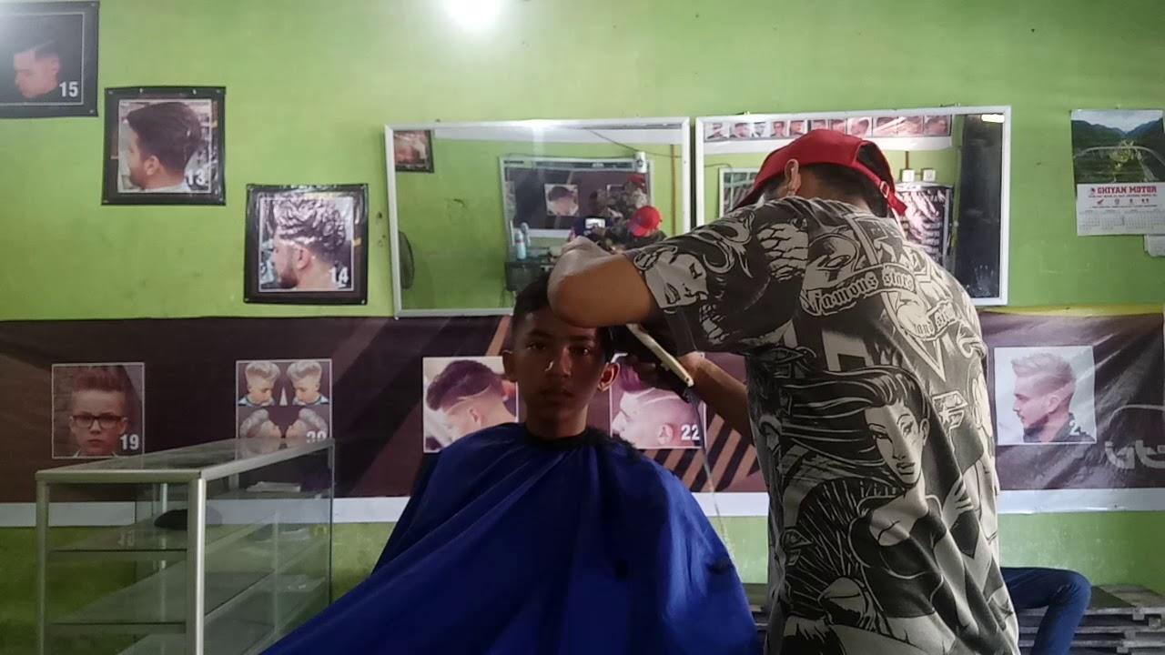 pangkas rambut anak remaja sekarang - YouTube