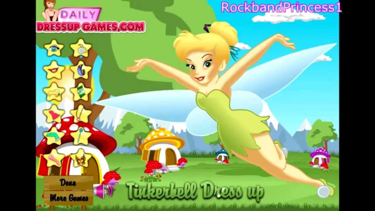 Dress up fairy games - Tinkerbell Games To Play Online Free Tinkerbell Fairy Dress Up Game