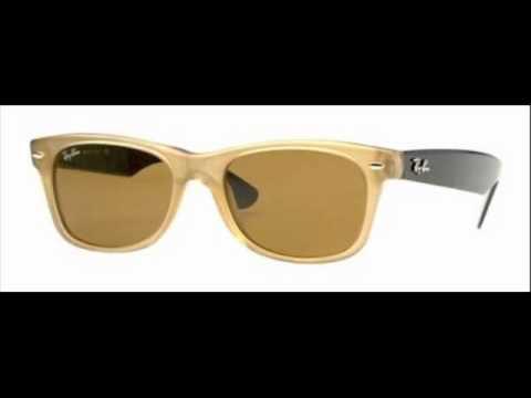 c344e49a70d1 Ray Ban Wayfarer Honey Polarized RB 2132 945 57 Sunglasses - YouTube