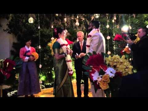Wedding Prathab Vicki Indian Korean Hd