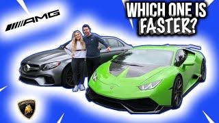 740HP E63S AMG vs Supercharged LAMBORGHINI *Shocking Results*