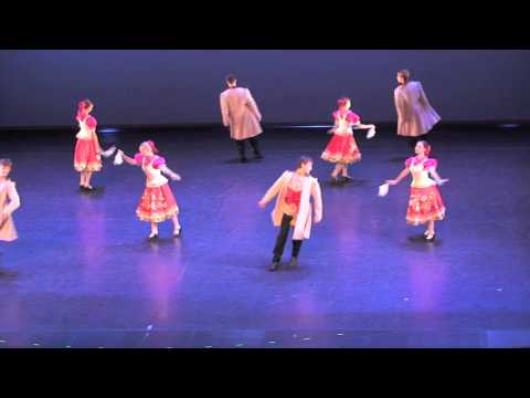 Folk Dance Group St. Petersburg - University of Culture, Russia