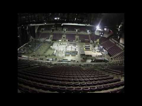 Load In At The Broadmoor World Arena