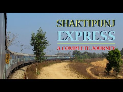 Jabalpur Howrah FULL JOURNEY | Shaktipunj Express FEAT. Forests & Coalfields of Eastern India