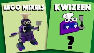 LEGO Mixels - Kwizeen - Stop Motion Build (How to Build)