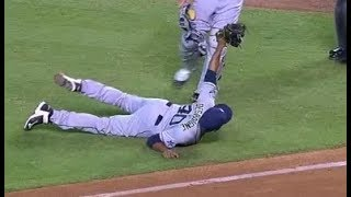 MLB Diving Catches on Bunts