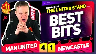 Man United 4-1 Newcastle Mark Goldbridge BEST BITS