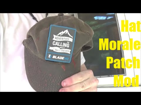 How To: Add a Morale Patch to Your Hat