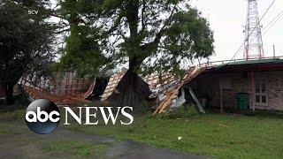 Hurricane Barry slams Louisiana