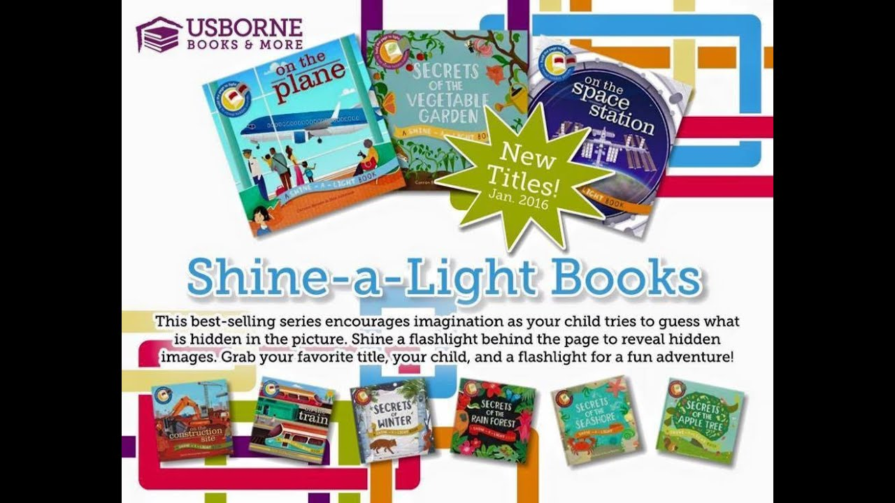 Usborne Shine A Light Books