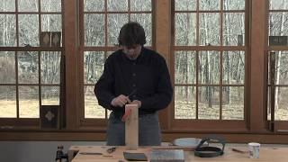Sharpening The Radius Cutter With Steve Latta