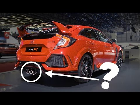 2018 Honda Civic Type R: Cool Facts & Weird Triple Exhaust Explanation