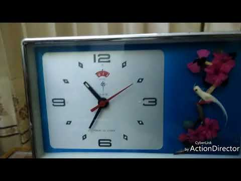 Antique Table Clock Collection
