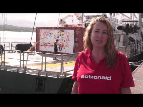 ActionAid Australia's Sonia Zavesky reports from Vanuatu