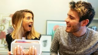 SURPRISING MY GIRLFRIEND WITH IPHONE X