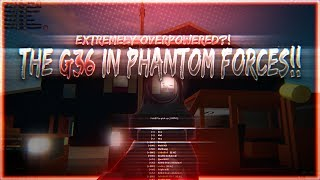 THE G36 ON ROBLOX PHANTOM FORCES!! (EXTREMELY OVERPOWERED?!)