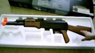 cyma cm002 ak47 airsoft gun unboxing
