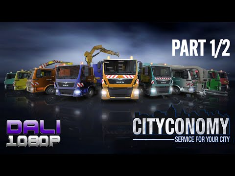Cityconomy Part 1/2 PC Gameplay 60fps 1080p