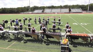 Stony Point drumline competition multicam