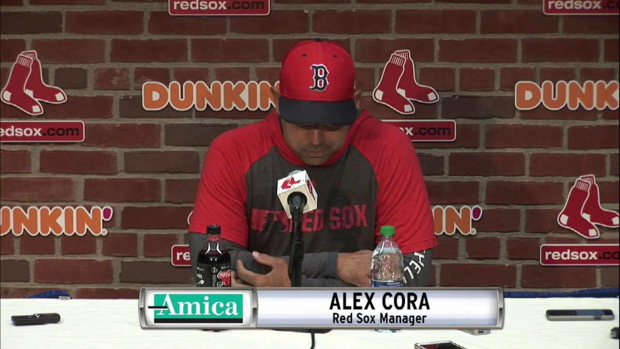 Alex Cora Reacts To Mike Yastrzemski Making His Fenway Park Debut