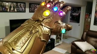 Hasbro Marvel Legends Avengers Infinity Gauntlet 1:1 Replica Unboxing and Review