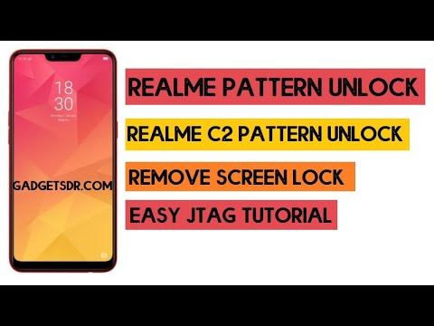 Realme 2 Pattern Unlock - Remove Screen Lock (Password + Pin Lock) Z3x Easy Jtag
