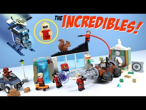 LEGO Juniors The Incredibles 2 Construction Sets Dash Build Review