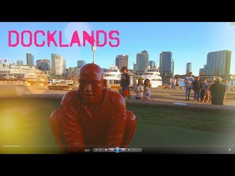 Melbourne Docklands New Quay Promenade Waterfront City