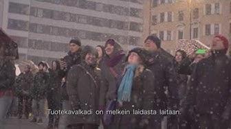 Veikkaus järjesti Tampereella ilotulituksen kaikkien aikojen Eurojackpot-voiton kunniaksi