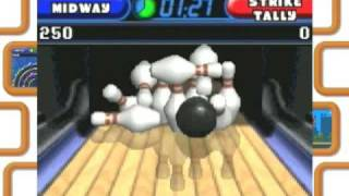 Touchmaster 2 Nintendo DS arcade video games trailer - bowling fun