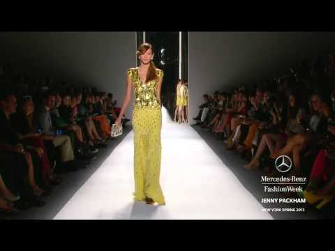 JENNY PACKHAM FULL COLLECTION - MERCEDES-BENZ FASHION WEEK SPRING 2013 COLLECTIONS
