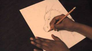 How to Draw an Eragon Dragon!!