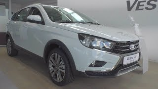 2018 Lada Vesta Sw Cross Luxe. In Depth Tour.
