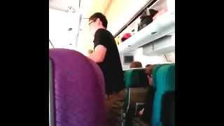 O interior do voo MH17 da Malásia antes da tragédia