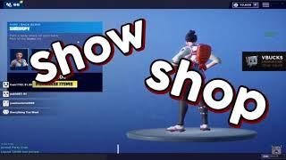 """""""show shop"""" - Liquid Chap"""
