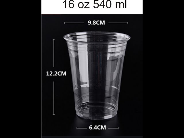 Jual cup plastik 10 oz, 12, oz, 14 oz, dan 16 oz
