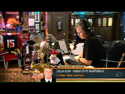 Collin Klein on The Dan Patrick Show 9.27.12