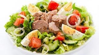 Салат с тунцом - Новогодний салат - Новогодние блюда 2017 / TUNA salad recipe