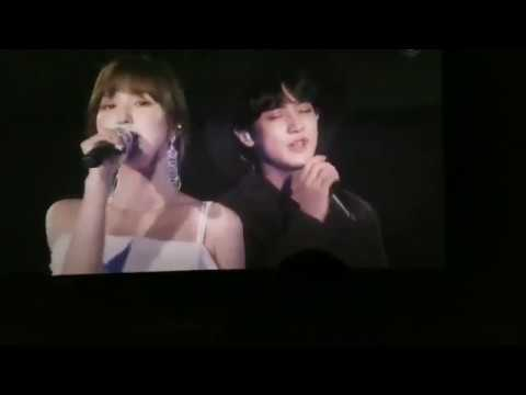 Wendy (Red Velvet) & Chanyeol (EXO) - Stay SM TOWN IN OSAKA