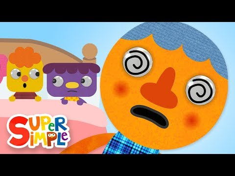 Cantec nou: Six In The Bed | Kids Songs | Super Simple Songs